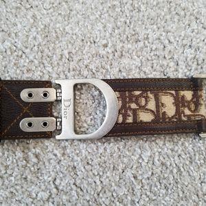 Authentic Christian Dior Belt